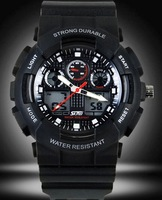 Skmei Casual Sports Waterproof 30M Light Watches Men Date 2 Time Zone 0909