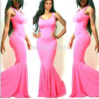 New Women Long mermaid Dress longos Party Evening Elegant  Formal Robe Soiree Vestido De Festa Celebrity Prom Dresses