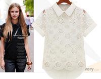 blusas femininas 2014 spring and summer women sheer chiffon blouses ladies blusas shirt camisas blouse tops women lace cardigans