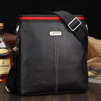 New Arrival Hot Sale Fashion Men Bags  Men Genuine Leather Messenger Bag High Quality Man Brand Business Bag 2012-30