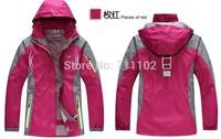 new women winter jackets outdoor sports coats lady waterproof windbreaker hood camping hiking mountain skiing sale free shipping