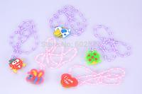 Children's Day / birthday gift  Cartoon luminous necklace badge gift Free shipping 20pcs/lot