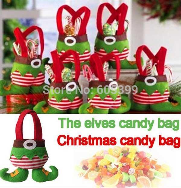 Товары для праздника Oem : 22X18cm Christmas Gift Bag