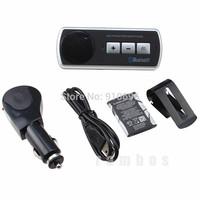 Car Handsfree Bluetooth Multipoint Speaker Phone Car Kit Speakerphone for iphone 5 4 4s Cell Phone