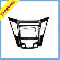 Car refitting DVD frame,DVD panel,Dash Kit,Fascia,Radio Frame for 2010 HYUNDAI SONATA YF(common type),2DIN