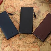 Fashion business Men Long Zipper multi-function Wallet Pocket Clutch Card Purse C08-3