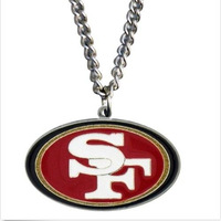 2014New Free Shipping top trendy San Francisco 49ers Inspired Para Cord Survival Bracelet