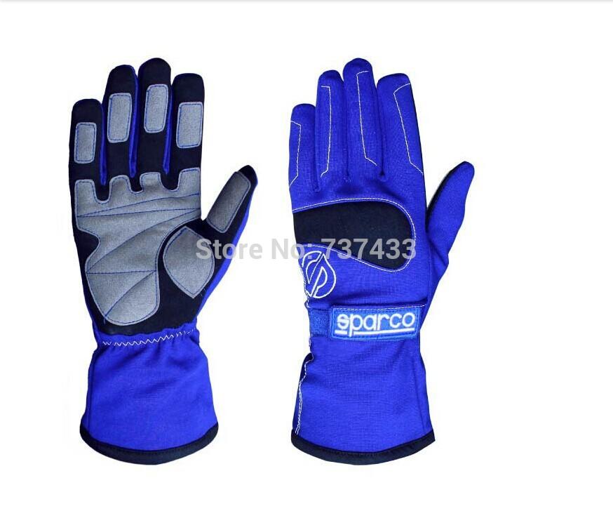 Newest Kart Sparco Racing Glove, sport glove GM010,Alcantara professional Car Racing Glove(China (Mainland))