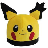 Pokemon Raichu Cute Yellow Soft Plush Caps Hat Free Size New Gift For Adults Retail & Wholesale
