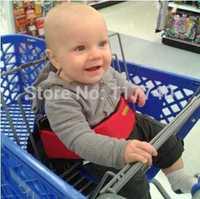 Baby cart belts supermarket cart child seat belts free shipping  Shopping cart strap