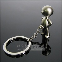 New arrival fork mr.p keychain key ring male car key chain birthday gift