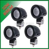 4x 10W CREE LED Work Light Bar Spot / Flood 800LM Modular Lamp Driving Ute Boat 4WD 4x4 12V-24V
