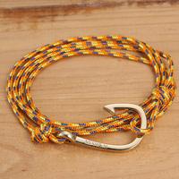 New Arrival 2014 Womens Bracelets Miansai Gold Hook Bracelet Original Snap Buttons For Snap Manual Bracelet For Lovers