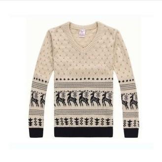 2014 зима человек свитер рисунок свитер пара свитера бесплатная доставка S901
