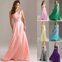 vestido de festa 2014 new arrival free shipping cheap formal women dresses fashion Cocktail Chiffon Prom Dress