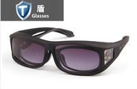 Myopia sets of night vision goggles mirror sunglasses polarized sunglasses for men and women drivers mirror clip glasses tide