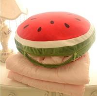 Large Size:100*150cm Kawaii Watermelon Air Conditioning Blanket Dual Pillow Cushion Retail SS1