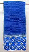 High quality african guipure lace,chemical lace,cord lace,stones lace fabric, ROYALBLUE  5yards/piece  X561