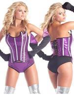 Women Shapewear Slimming underwear Waist Cincher Shapers Bling Bling Celestial Beauty Hero Costume LC8774 Corselet Free Shipping