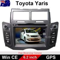 "6.2 "" Car DVD For TOYOTA YARIS 2005-2011 GPS Stereo Radio DVD Player head unit"