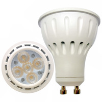 Free Shipping  LED Bulb Lamp GU10  5PCS LED 2835SMD 6W AC220V 230V 240V Cold white/warm white Free shipping