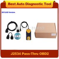 Free Shipping Lastest Version 2013.02 Multi-Diag Access J2534 Pass-Thru OBD2 Device Multidiag Multi Diag High Quality Hottest!!!