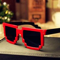 Nnew mosaic Miding sunglasses retro sunglasses square sunglasses men and women the same paragraph sunglasses JWF-009