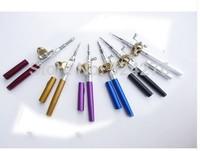 Portable mini pen fishing rod durable quality Pocket Tackle Shape Fish Fishing Rod Pole + Reel combos
