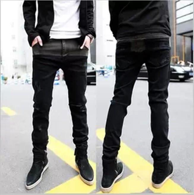 Discount Wholesale Top Sale Fashion Korean Skinny Jeans For Men ...