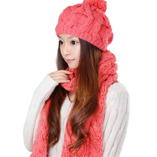 Женские шарфы, Шапки, Комплекты L&C 5 S-003