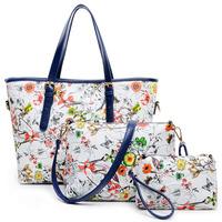 2014 new trend printed women handbag three-piece lash package fashion women messenger bag female shoulder bag crossbody bag tote