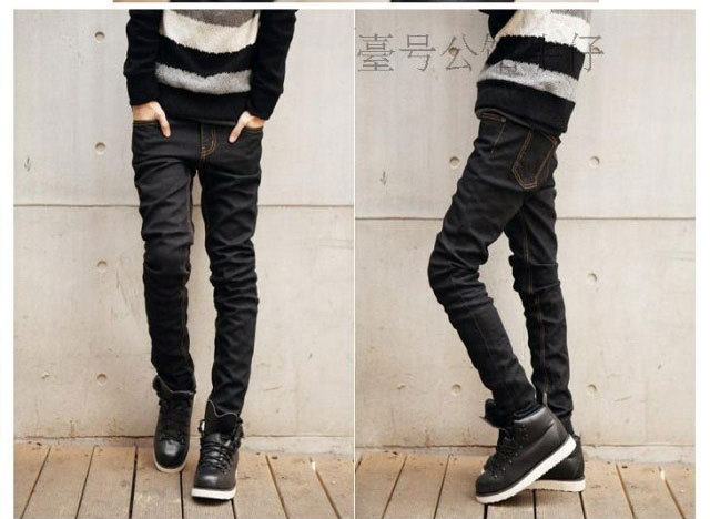 Discount Wholesale Top Sale Fashion Korean Skinny Jeans For Men