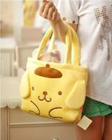 Kawaii Pudding Dog Cartoon Bag Lunch Bag Women's Handbag SS1