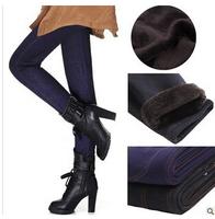 2014 Plus Size Casual Women Jeans Warm Thicken Winter Pencil Pants Faux Jeans Leggings NZ1003