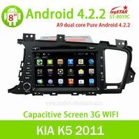 LSQSTAR Android 4.2Car audio gps player for KIA K5 2011&2011 KIA OPTIMA with radio 3G wifi support steering wheel control