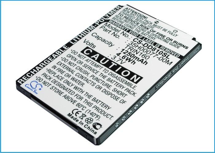 Phone Battery For UTSTARCOM PPC6800,For VODAFONE VPA Compact GPS (P/N 35H00077-00M TRIN160)(China (Mainland))