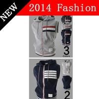 2014 fashion cotton vest men brand sleeveless jacket clothing mens casual vests coat autumn patchwork zipper slim fit 919LP