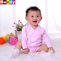 0-9M Newborn winter autumn baby clothes, baby underwear cotton long-sleeved leotard Buedy bodysuit