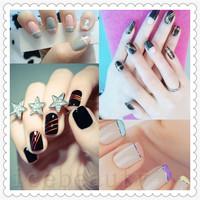 2014 HOT 38 pcs 38 Mixed Colors Rolls Striping Tape Line Nail Art Decoration Nail Stickers 38Pcs/Set