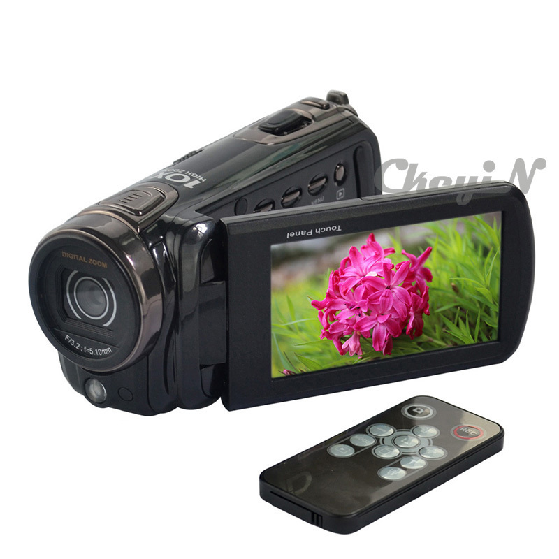 """New HD Camera 3""""inch LCD Touch Screen HDMI Output Camcorders 16Mp Max 720P HD Digital Video Camera Remote Control DVR24H-S28(China (Mainland))"""