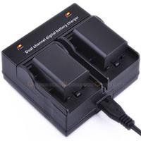 Dual Channel Battery Charger For EN-EL20 Nikon MH-27 COOLPIX A AW1 J1 J2 J3 S1 etc.