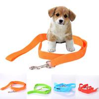 LED Flashing Pet Leash Rope Belt Dog Harness Safety Lead Light dog collar drop