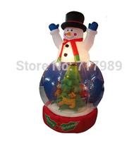 inflatable Christmas snowman,Inflatable Christmas Decoration,Christmas present/gifts for kids