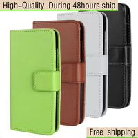 High Quality Magnetic Wallet Flip Leather Case Cover For HTC Desire 210 Free Shipping DHL EMS UPS FEDEX HKPAM CPAM