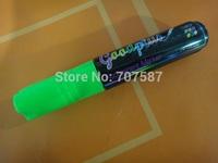 Colorful NEW 10mm Highlighter Fluorescent Wet Liquid Chalk Neon Marker Pen green 1PCS