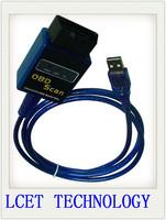 2 years Warranty Newest Vgate USB ELM327 OBD2 / OBDII ELM 327 V2.1 Auto Diagnostic Scanner