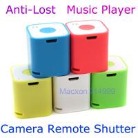 Smart Cute Wireless Bluetooth Stereo Speaker Mini Sound Box Music Player HandsFree + Self Photograph Remote Shutter + Anti-lost