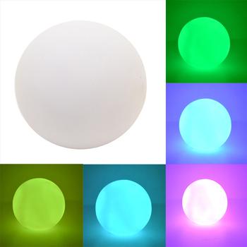 Рождество изменение цвета из светодиодов радуга шарика украшения рождество ну вечеринку волшебная ночь проблесковый огонь