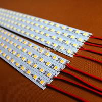 LED Bar Light Non-Waterproof 5050 SMD 72LEDs/M LED Rigid Strip DC 12V LED Tube Hard LED Strip