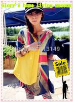 2014 Europe and America new fashion women leisure messenger bags yellow green free shipping
